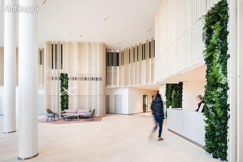 Toimitilat Espoo | Karaportti 5 | aulapalvelu
