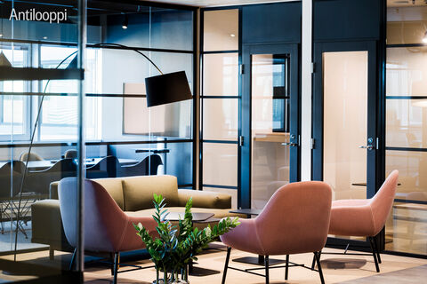 Toimitilat Espoo | Karaportti 5 | lounge