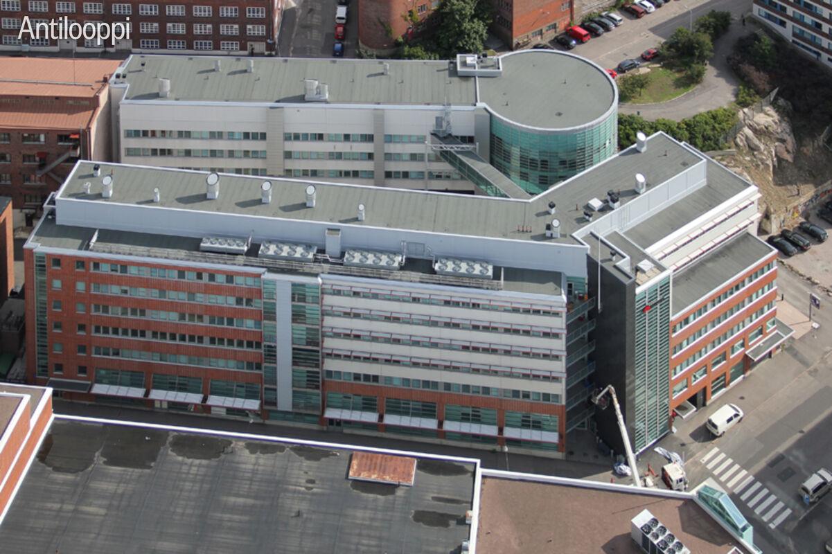 Toimitilat Helsinki | Elimäenkatu 17-19 | ilmakuva