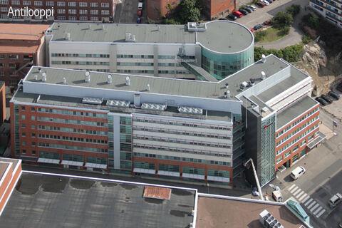 Toimitilat Helsinki   Elimäenkatu 17-19   ilmakuva