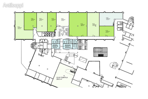 Business premises Helsinki | Helsingin Valimotie 21 | floorplan 1