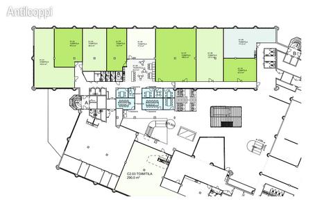 Business premises Helsinki | Helsingin Valimotie 21 | floorplan 1