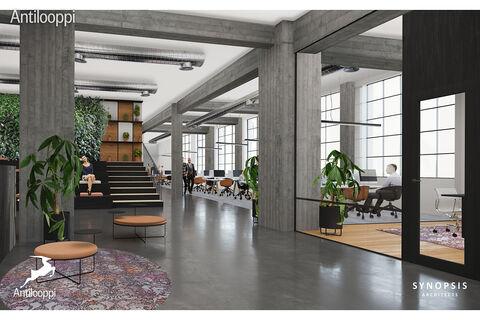 Business premises Helsinki | Ruoholahdenkatu 21 | visualization picture 1