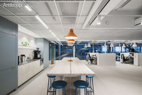 Business Premises Helsinki | HTC Helsinki Pinta | Tammasaarenkatu 3 | 3rd floor kitchen