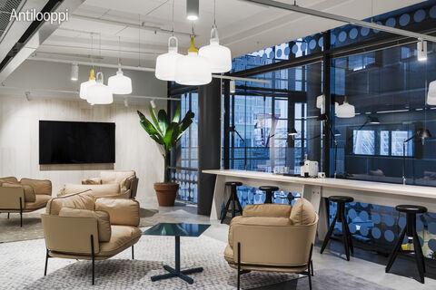 Toimitilat Helsinki | HTC Helsinki Pinta | Tammasaarenkatu 3 | 3rd floor lobby