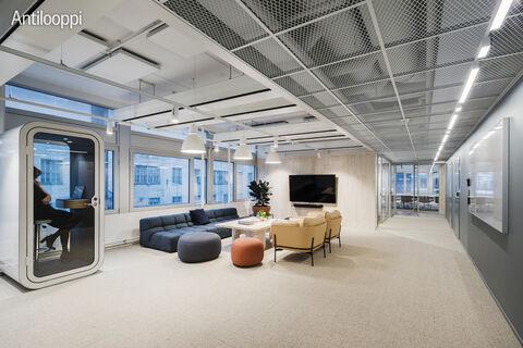 Business Premises Helsinki | HTC Helsinki Pinta | Tammasaarenkatu 3 | 3rd floor lounge