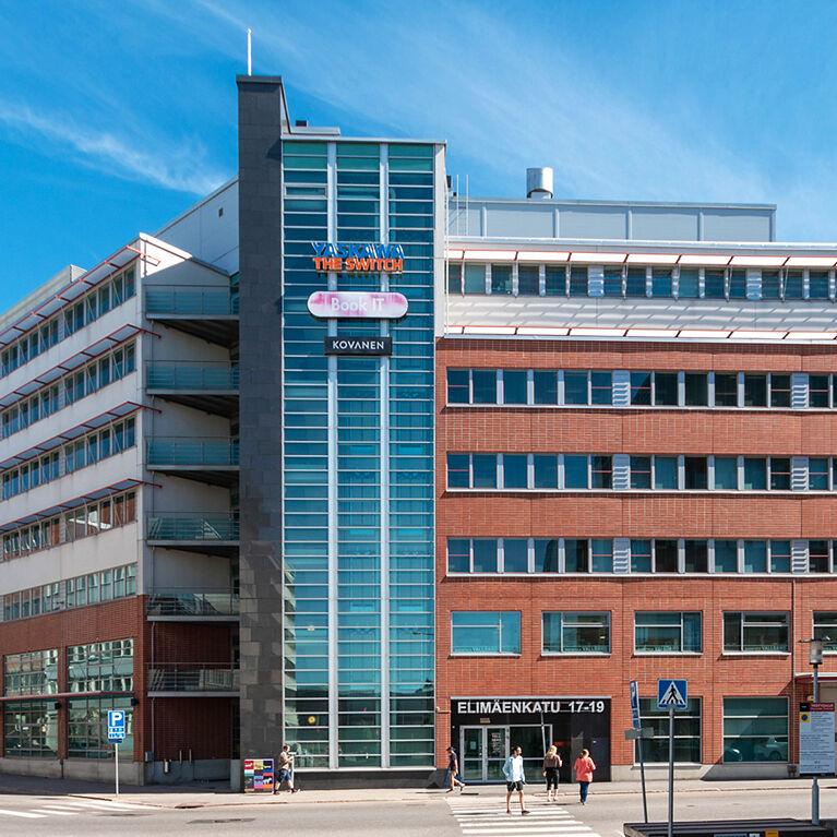 Toimitilat Helsinki | Elimäenkatu 17-19 | mobiilipanoraama