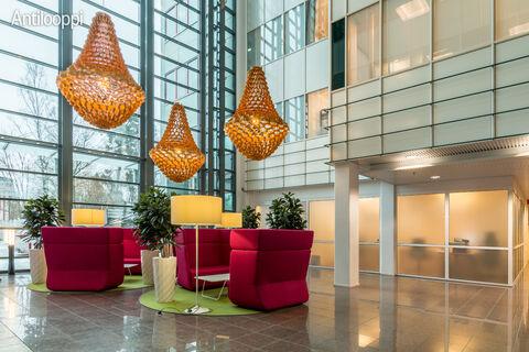 Toimitilat Espoo   Stella Business Park Luna, Lars Sonckin kaari    aula