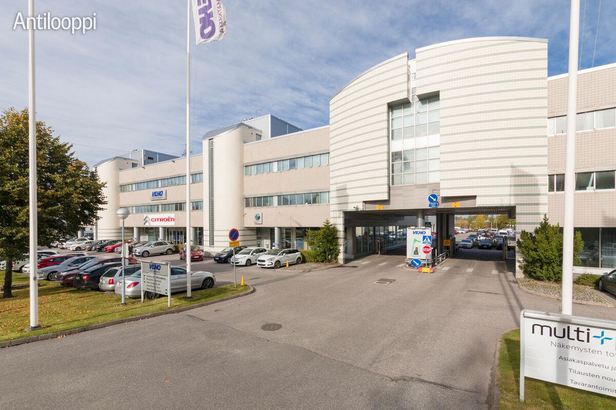 Toimitilat Vantaa | Mäkituvantie 3 | ulkokuva 2
