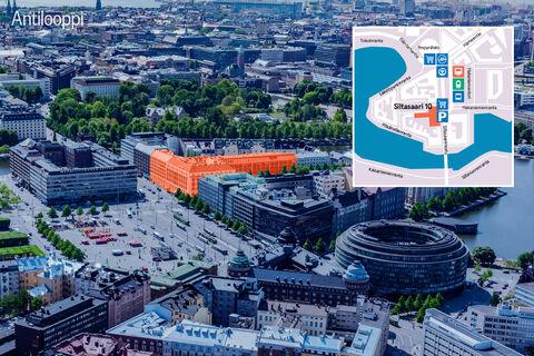 Toimitilat, Helsinki | Siltasaarenkatu 8-10 | ilmahavainnekuva