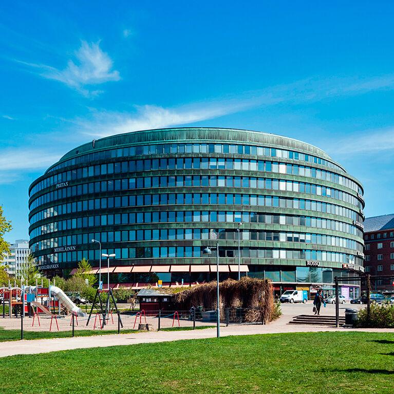 Business premises Helsinki | Ympyrätalo | Siltasaarenkatu 18-20 | mobile panorama