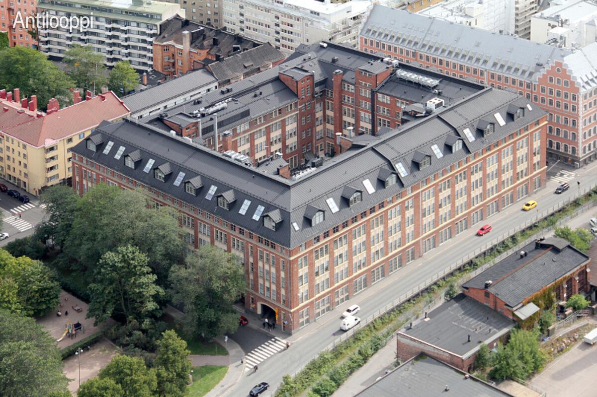 Toimitilat Helsinki | Merikortteli | Pursimiehenkatu 29-30 | ulkokuva 1