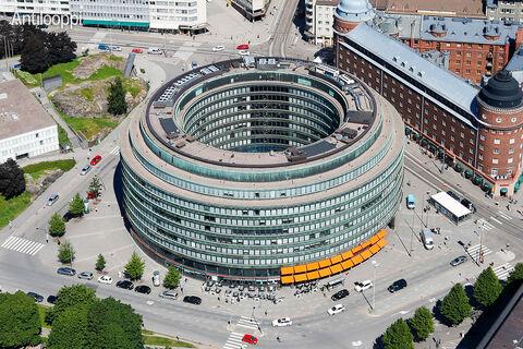 Toimitilat Helsinki | Ympyrätalo | Siltasaarenkatu 18-20 | ulkokuva 3