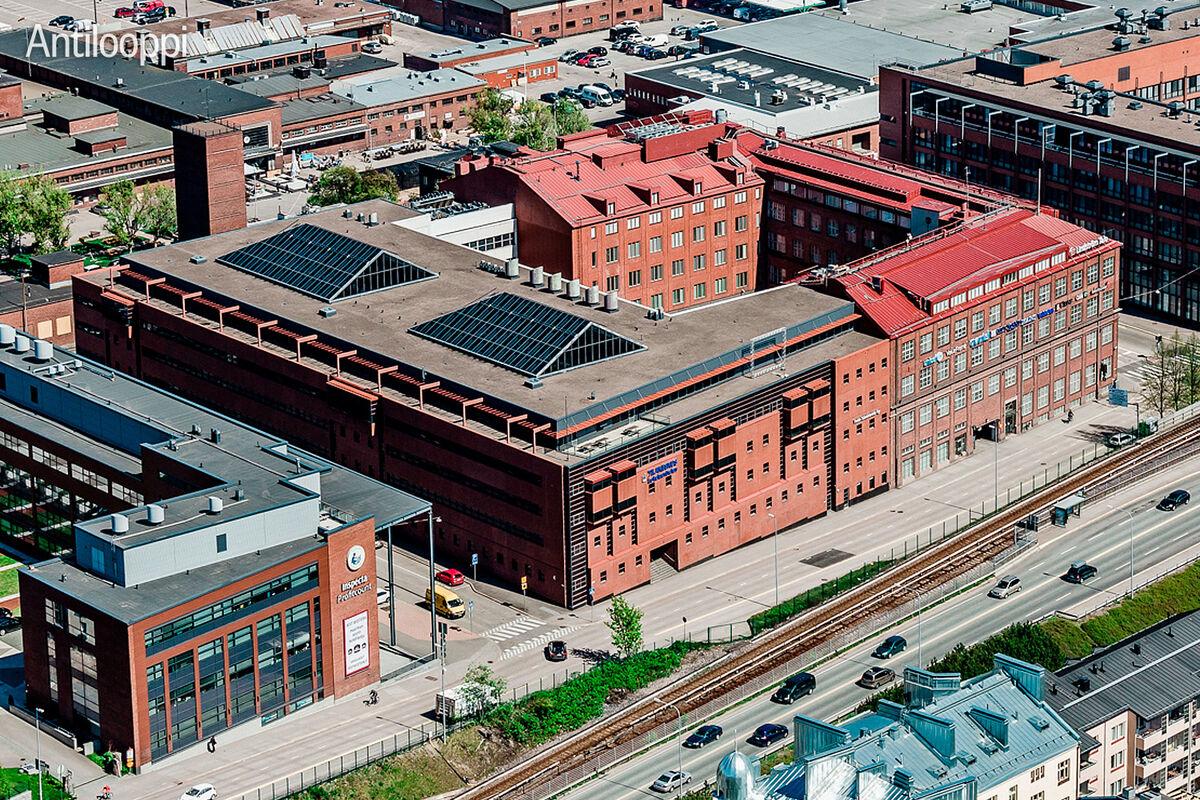 Toimitilat Helsinki |  Sörnäistenkatu 1 | ulkokuva 2