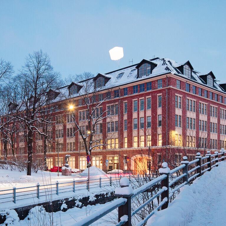 Business premises | Helsinki | Merikortteli | Pursimiehenkatu 29-30 | mobile panorama