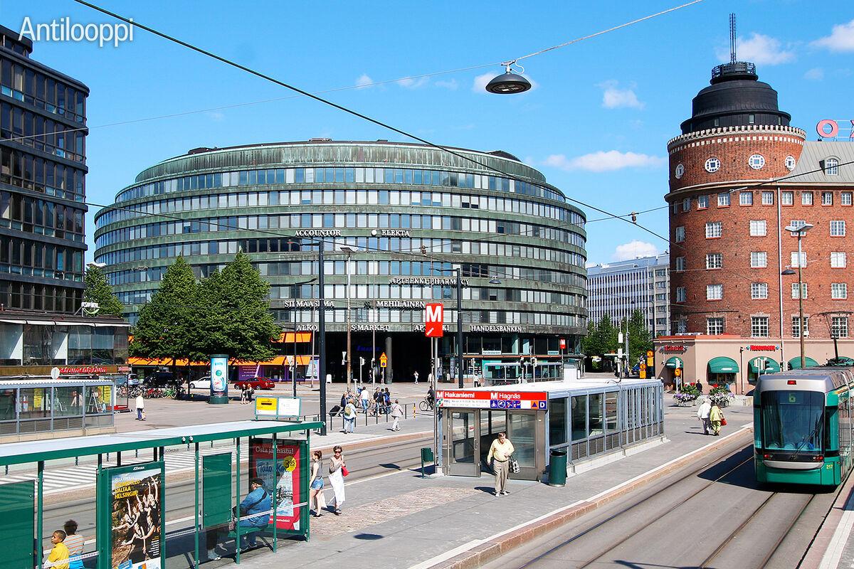 Business premises Helsinki   Ympyrätalo   Siltasaarenkatu 18-20   outside picture 1