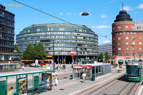 Toimitilat Helsinki   Ympyrätalo   Siltasaarenkatu 18-20   ulkokuva 1