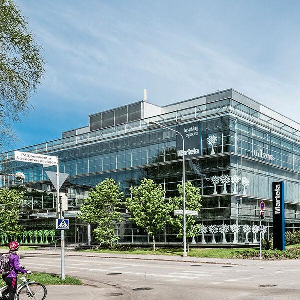 Business premises Helsinki | Takkatie 1 | mobile panorama