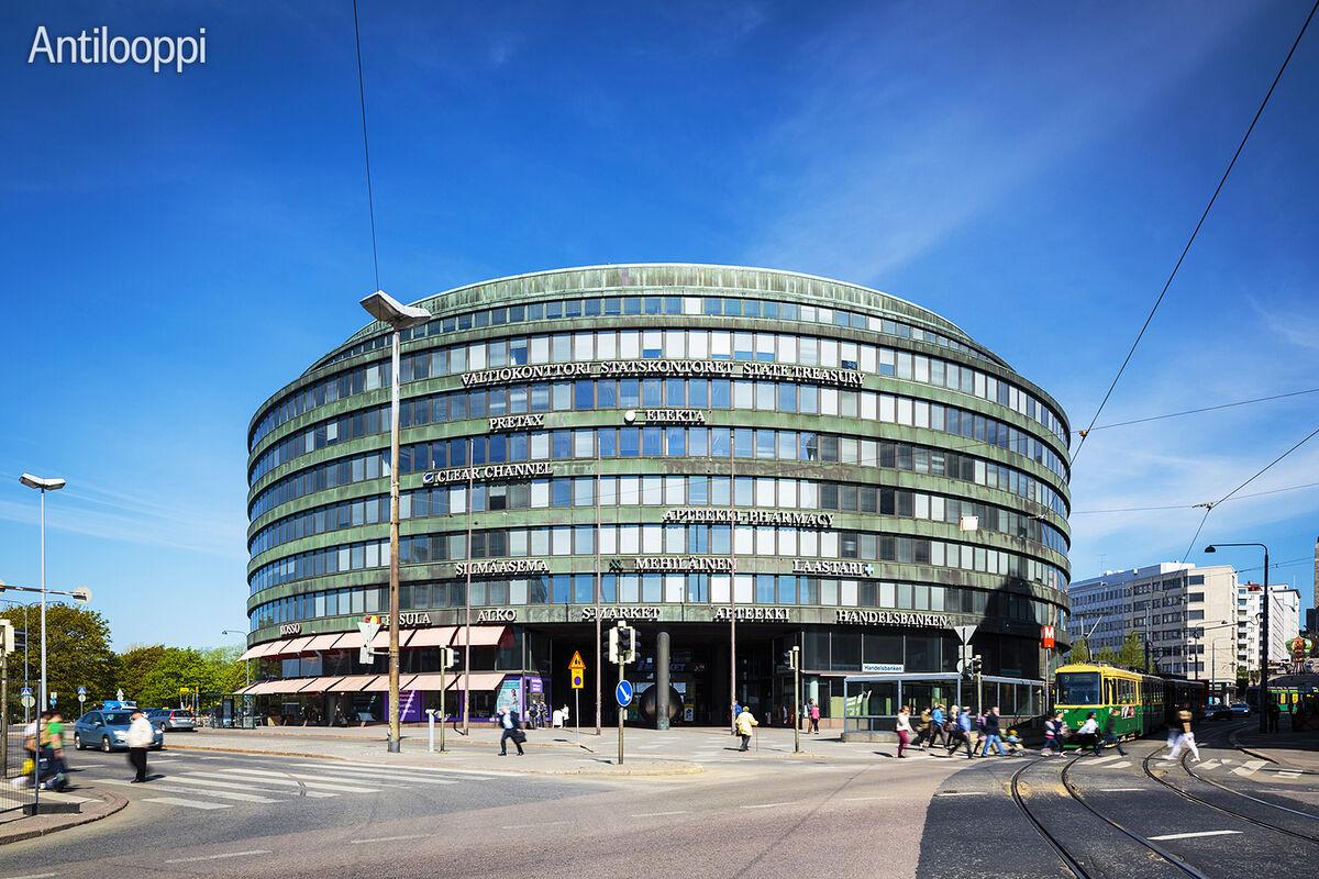 Toimitilat Helsinki   Ympyrätalo   Siltasaarenkatu 18-20   ulkokuva 2