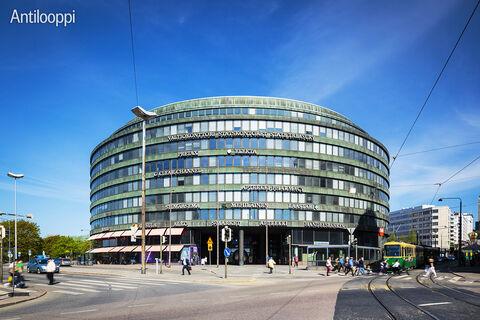 Toimitilat Helsinki | Ympyrätalo | Siltasaarenkatu 18-20 | ulkokuva 2