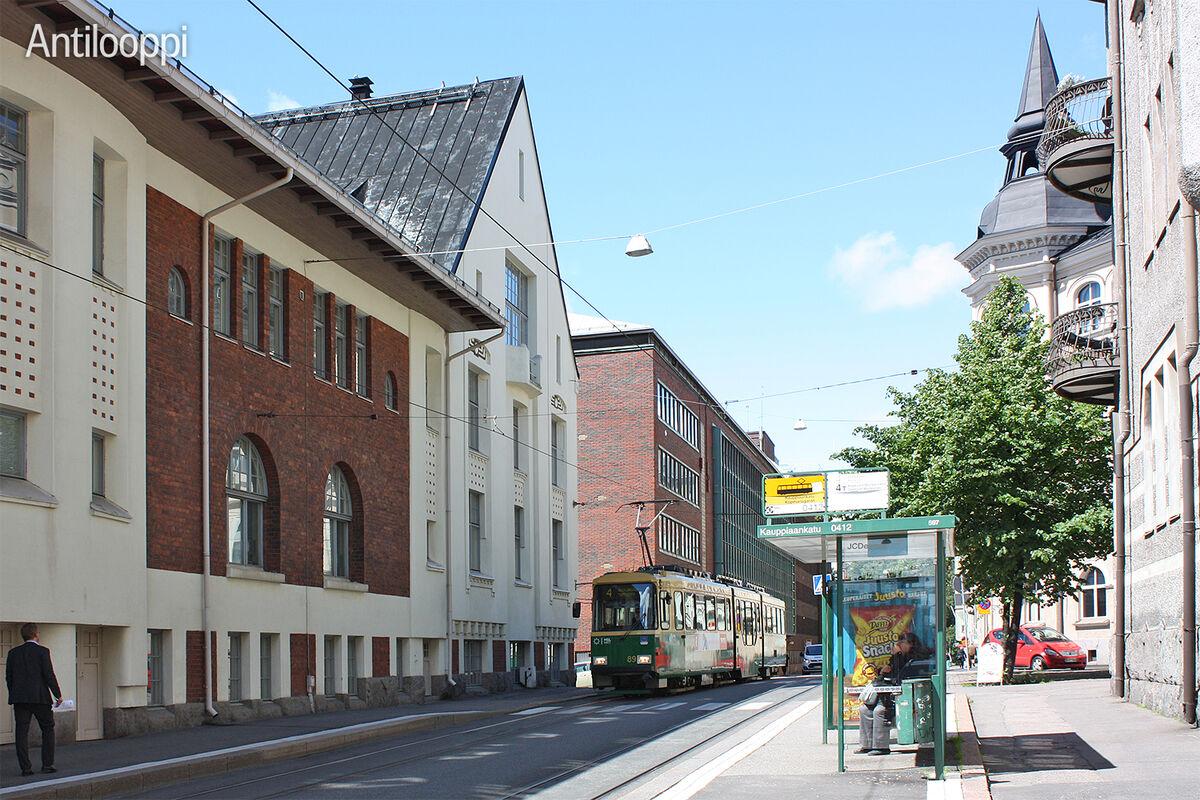 Toimitilat Helsinki | Ankkurikatu 5 | ulkokuva 3