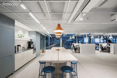 Toimitilat Helsinki | HTC Helsinki Pinta | Tammasaarenkatu 3 | 3 krs. keittiö