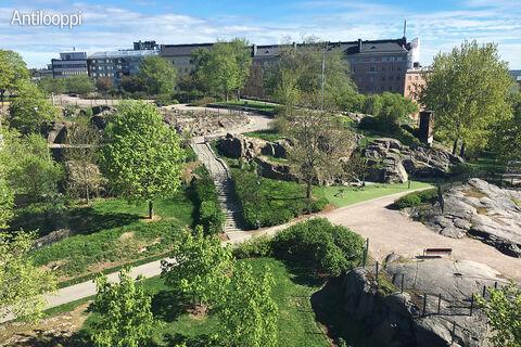 Toimitilat Helsinki   Helsingin Hämeentie 19   ulkokuva maisema