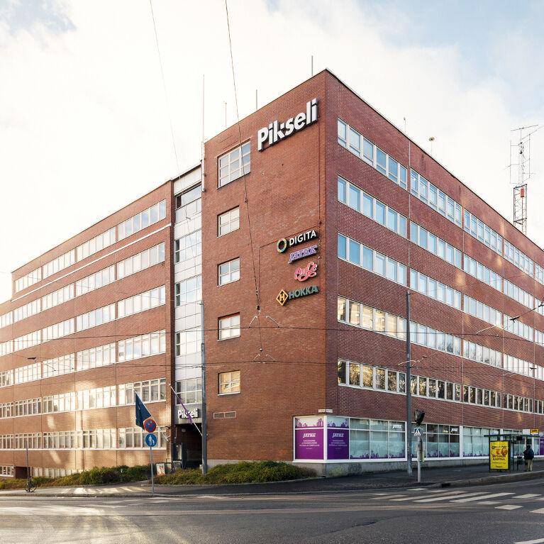 Toimitilat Helsinki | Kumpulantie 5  | mobilipanoramakuva