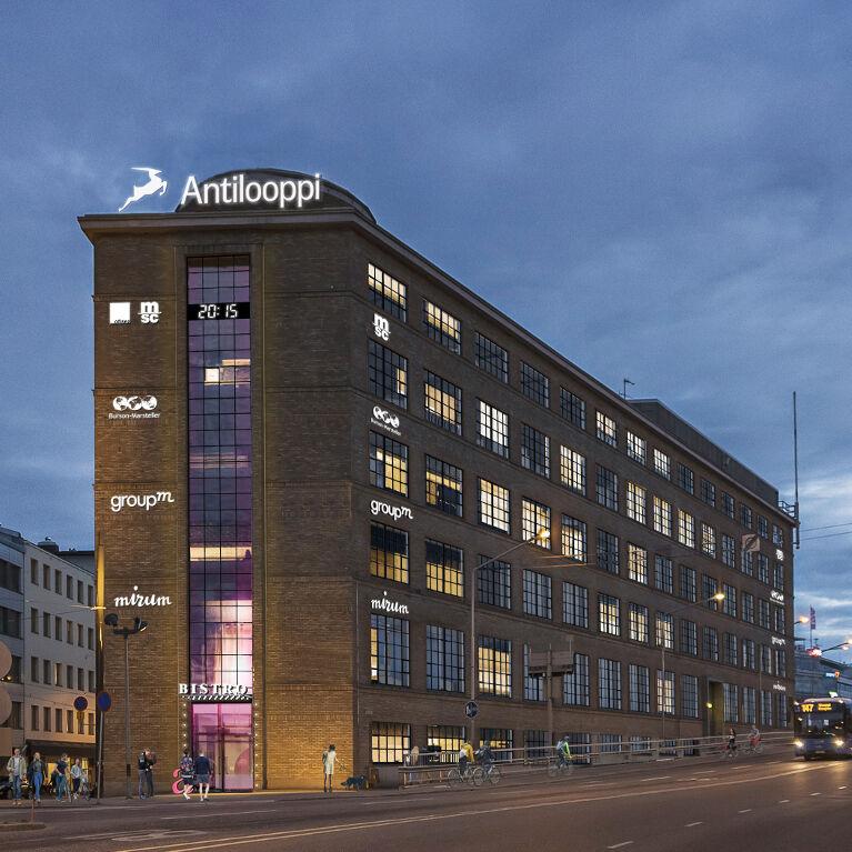 Toimitilat Helsinki | Ruoholahdenkatu 21 | Mobiilipanorama