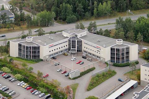 Toimitilat Espoo | Scifin Alfa, Piispantilankuja 4 | ilmakuva 01