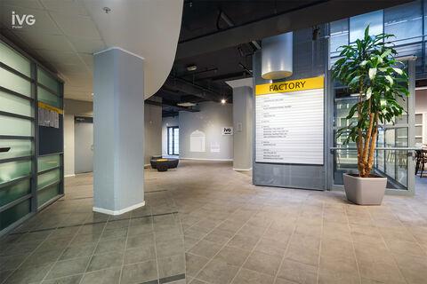 Toimitilat Helsinki | Vallilan Factory, Kumpulantie 3 | sisäkuva 01 aula