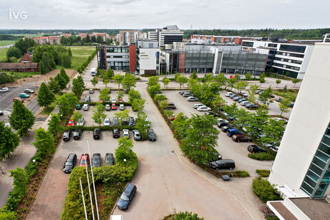 Toimitilat Vantaa | Pakkalankuja 6 | parkkialue