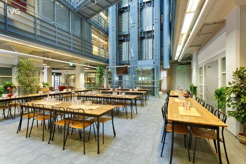 Business premises Helsinki   Vallilan Factory, Kumpulantie 3   inside picture 05 canteen