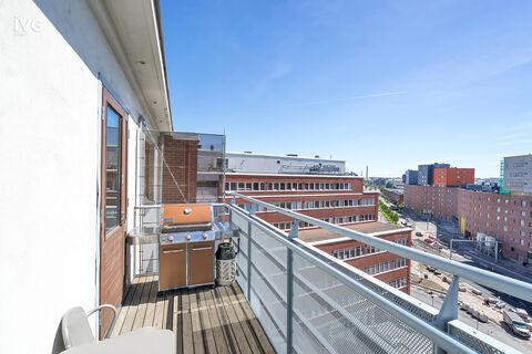 Business premises Helsinki   Vallilan Factory, Kumpulantie 3   inside picture 13 terrace