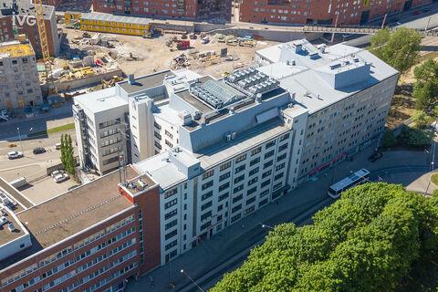 Business premises Helsinki | Vallilan Factory, Kumpulantie 3 | ulkokuva 01