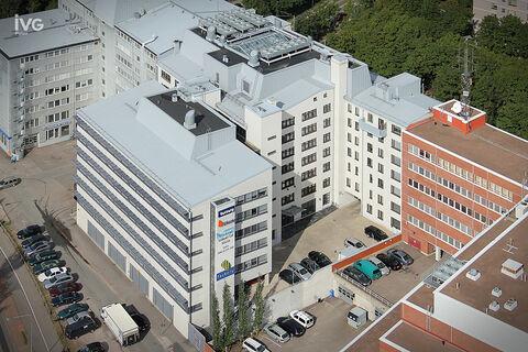 Toimitilat Helsinki | Vallilan Factory, Kumpulantie 3 | ilmakuva 01