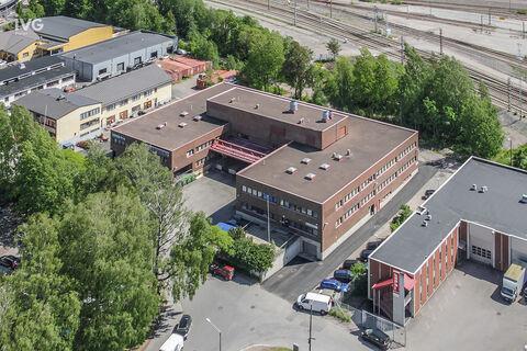 Business premises Helsinki | Läkkisepäntie 11 | aerial picture 01