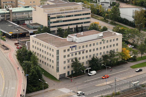 Toimitilat Helsinki | Malminkaari 5 | ilmakuva 01