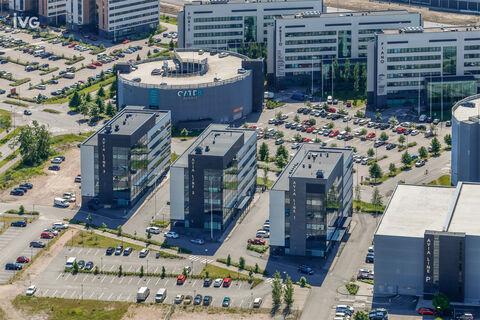 Toimitilat Vantaa | Avia Line, Perintötie 2c | ilmakuva