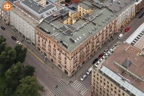 Toimitilat Helsinki   Eteläesplanadi 12   ilmakuva