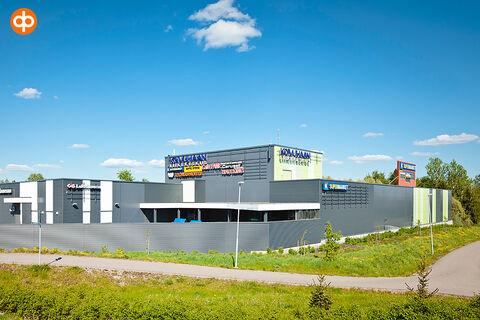 Toimitilat Vantaa | Koivuhaan Liikekeskus, Kuriirintie 23-25 | ulkokuva