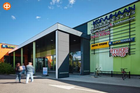 Toimitilat Vantaa | Koivuhaan Liikekeskus, Kuriiritie 23-25 | ulkokuva 2