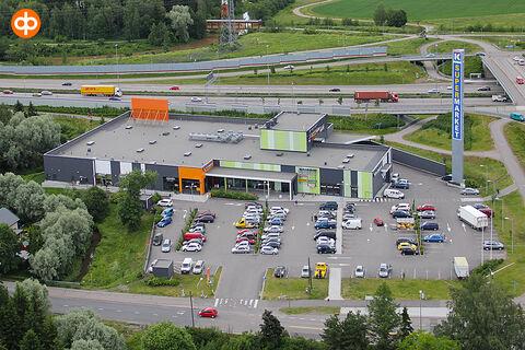 Toimitilat Vantaa | Koivuhaan Liikekeskus, Kuriiritie 23-25 | ilmakuva
