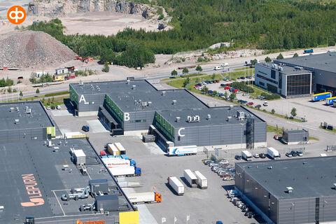 Toimitilat Vantaa   Ostospuisto Tammisto, Sähkötie 2-6   ilmakuva 2
