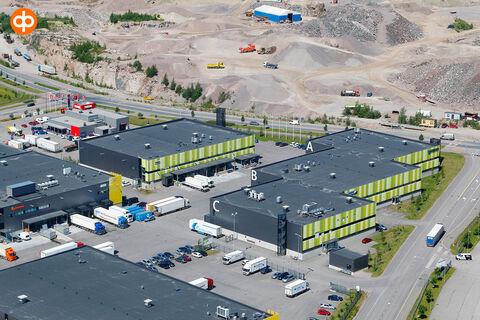 Toimitilat Vantaa   Ostospuisto Tammisto, Sähkötie 2-6   ilmakuva 3