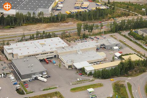 Toimitilat Vantaa  Ansatie 5   ilmakuva