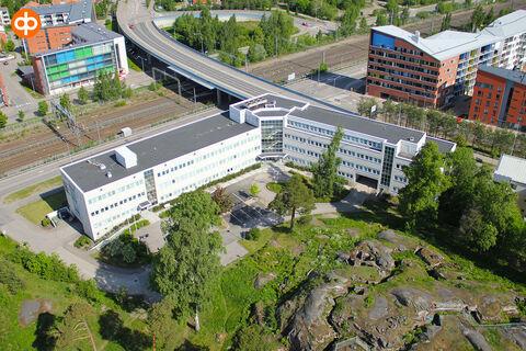 Toimitilat Helsinki | Malminkaari 23 | ilmakuva 2