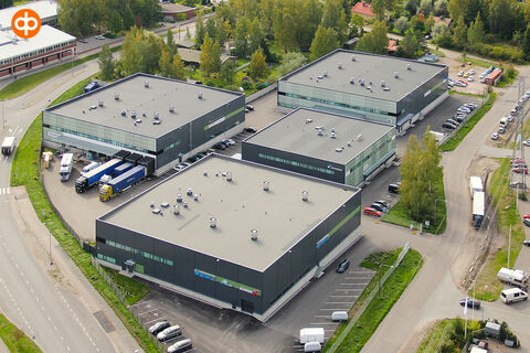 Toimitilat Vantaa | Meiramitie 3 | ilmakuva 1