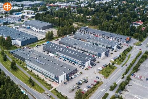 Toimitilat Vantaa | Puutarhatie 20-24 | ilmakuva