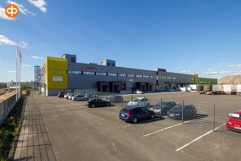 Toimitilat Vantaa | Grand Cargo Terminal, Tahkotie 1 | ulkokuva